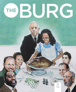 BurgNovCover 250x300 TheBurg Cover: An Explanation of Our Parody
