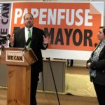 Mayor Eric Papenfuse announced his bid for re-election today.