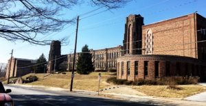 The former building for Bishop McDevitt High School has sat vacant since 2012.