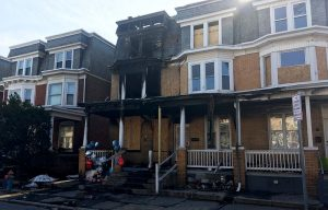 A fire broke out on the 2500-block of Lexington Street in Uptown Harrisburg.