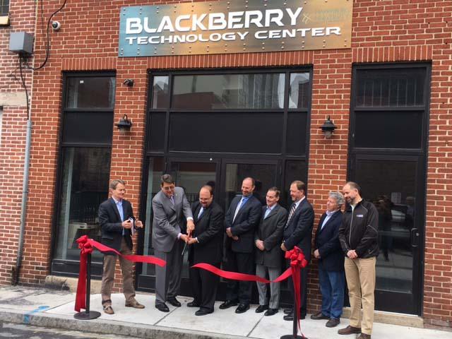 Idea Factory: Blackberry Technology Center Opens Downtown - theBurg