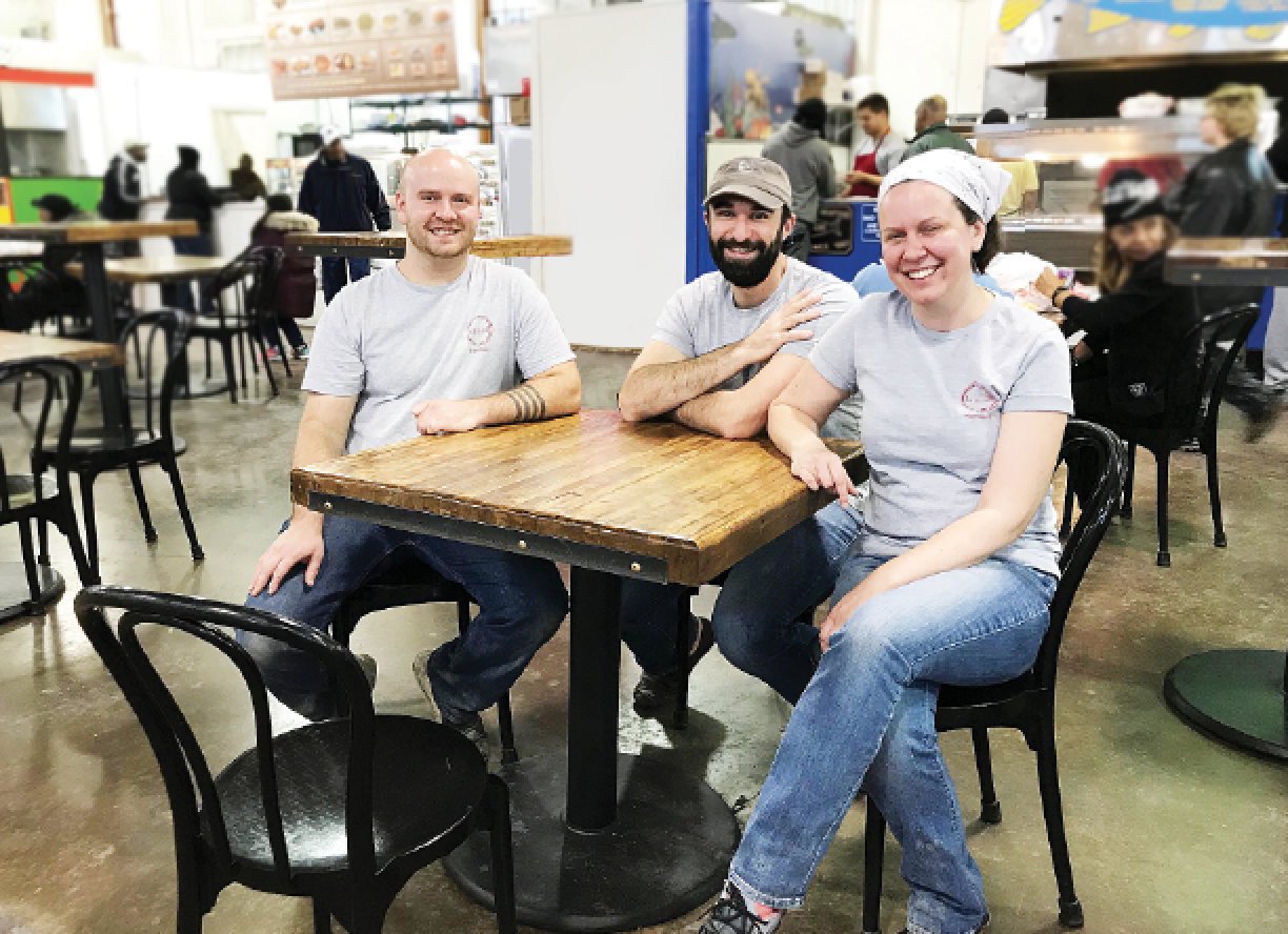 Food Lanes: At the Broad Street Market, new tables, crowned
