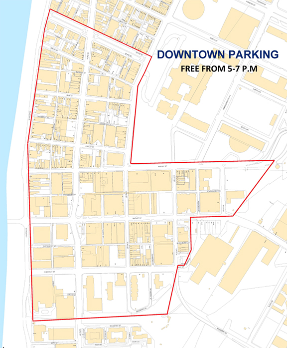 Harrisburg Freezes Over Free downtown parking to begin next week