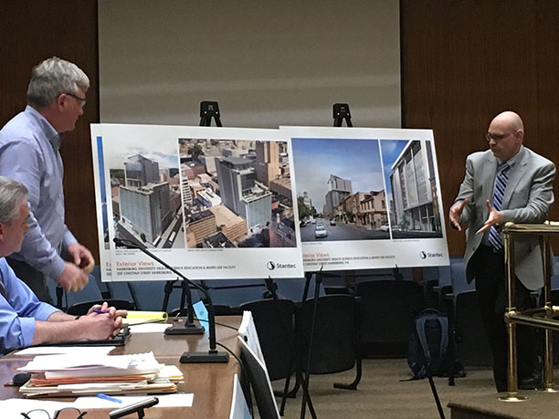 HBG Planning Commission approves Harrisburg University tower, now