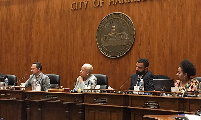 Dispensary resolution, zoning change introduced by Harrisburg City Council