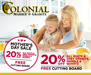 Colonial Marble Mothers day